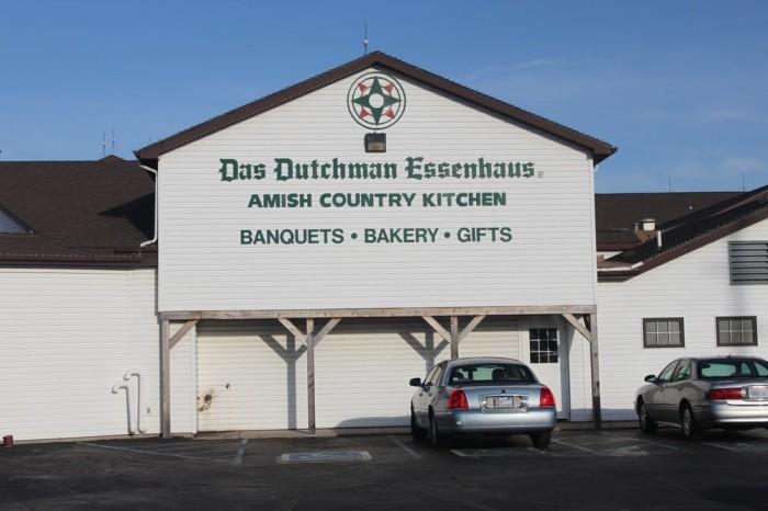 6. Das Dutchman Essenhaus (240 US-20, Middlebury)
