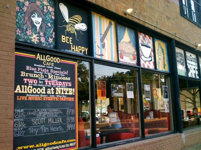 6. AllGood Cafe (Dallas)