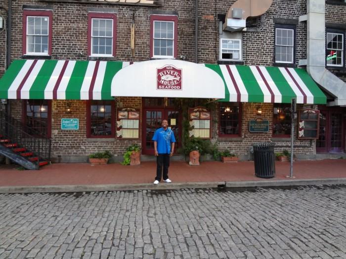 5. River House Seafood  - 125 W River St, Savannah, GA 31401