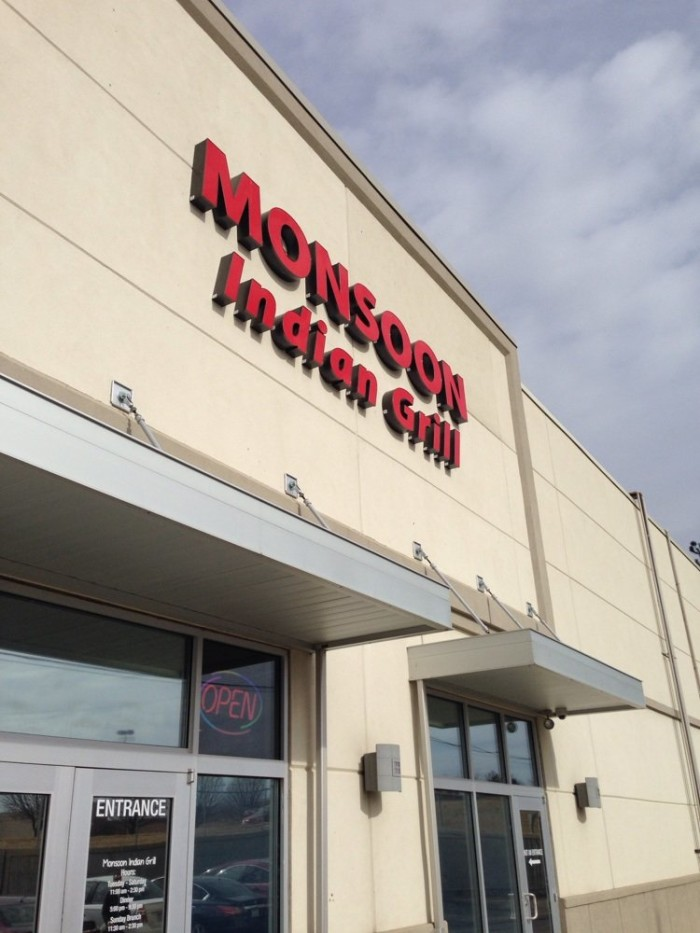 2. Monsoon Indian Grill (Topeka)
