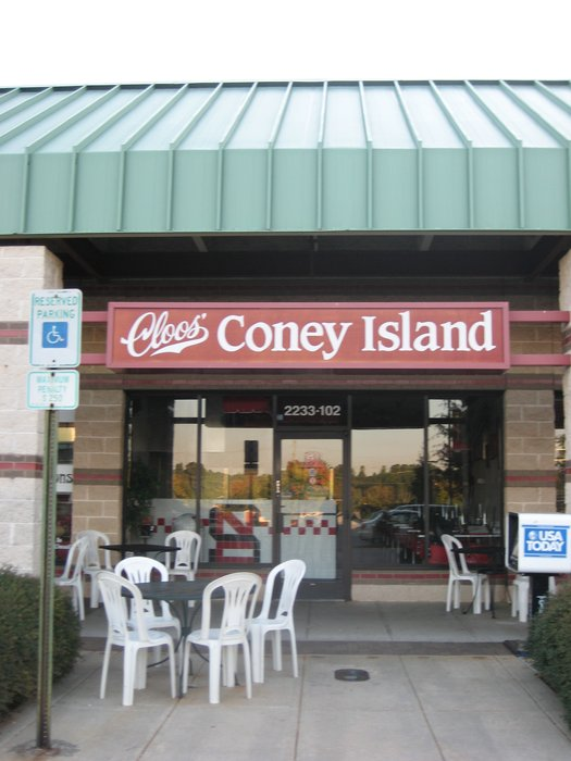 1. Cloo's Coney Island Hot Dogs, Raleigh
