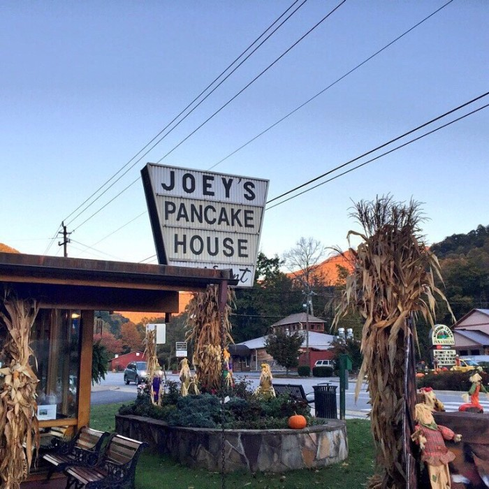 14. Joey's Pancake House, Maggie Valley