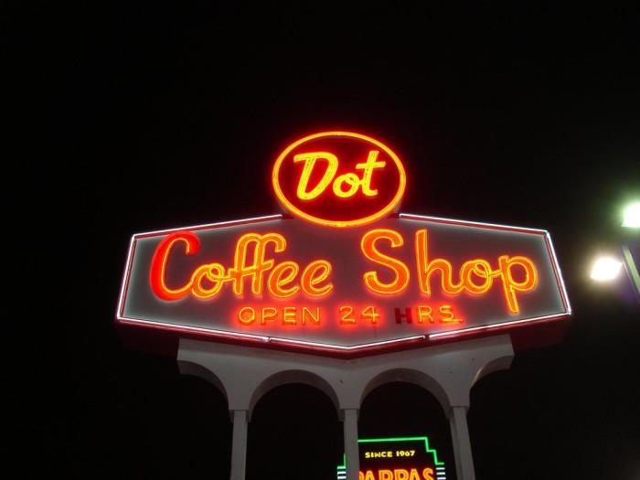 9. Dot Coffee Shop (Houston)