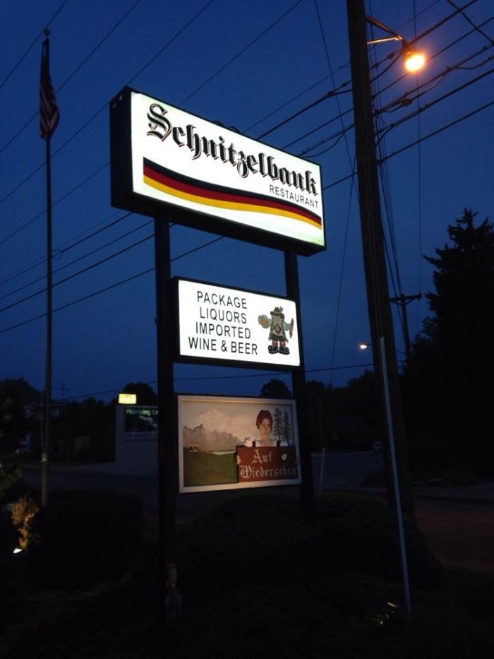 10. The Schnitzelbank Restaurant (393 3rd Ave, Jasper)