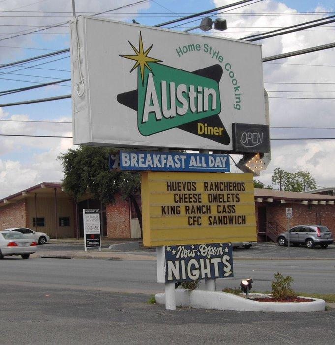 5) Austin Diner (Austin)