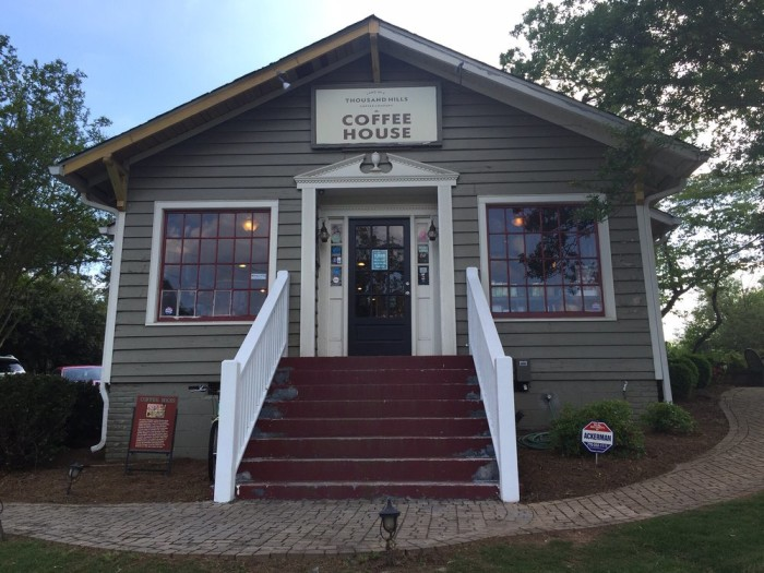 4. Land of A Thousand Hills Coffee House - 352 S Atlanta St Roswell, GA 30075