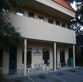 2. Cafe Frederica - 110 Sylvan Dr St. Simons Island, GA 31522