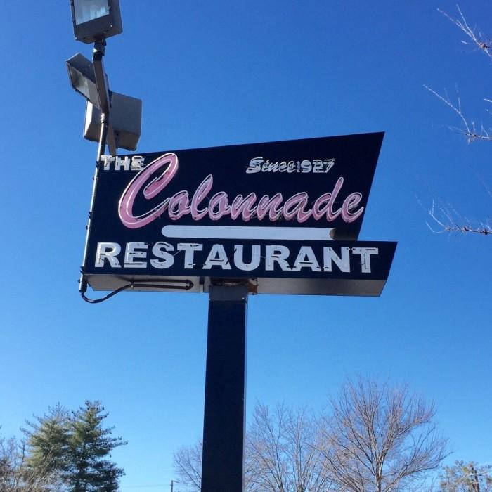 2. Colonnade Restaurant - 1879 Cheshire Bridge Rd NE Atlanta, GA 30324