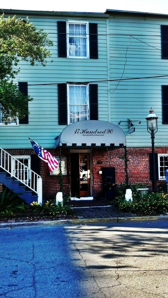 6. 17 Hundred 90 Inn & Restaurant -  307 E President St, Savannah, GA 31401