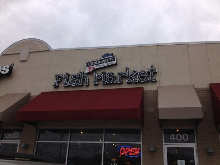 1. Caplinger's Fresh Catch Seafood Market and Restaurant