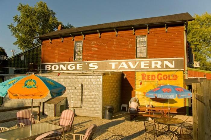 5. Bonge's Tavern (9830 W 280 N, Anderson)