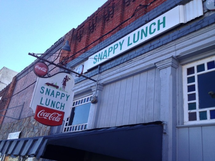 7. Snappy Lunch, Mt. Airy