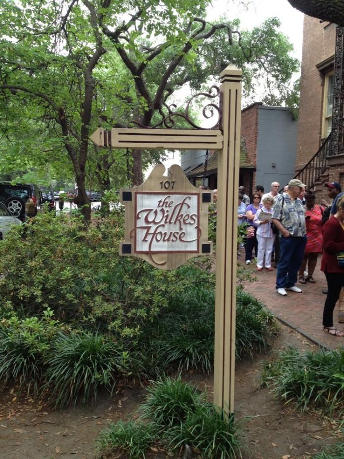 5. Mrs. Wilkes Dining Room- 107 W Jones St Savannah, GA 31401