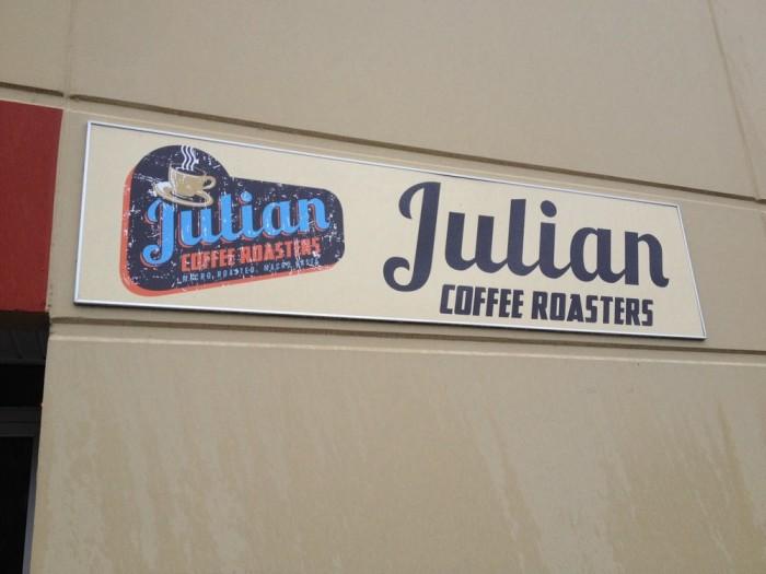 9. Julian Coffee Roaster