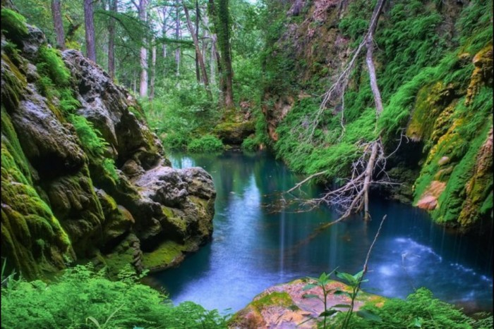 7) Westcave Preserve (Round Mountain)
