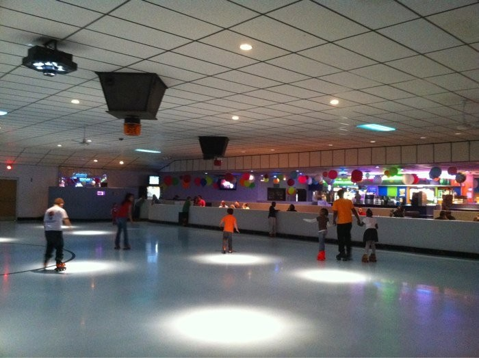 4. ...and skated the night away at Skate City in Merriam.