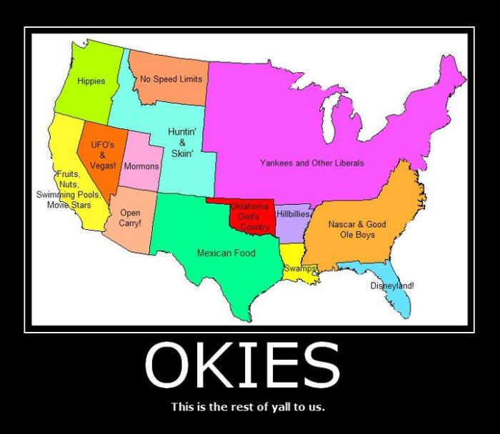 """15. """"How Oklahoma Sees The Rest of America."""""""