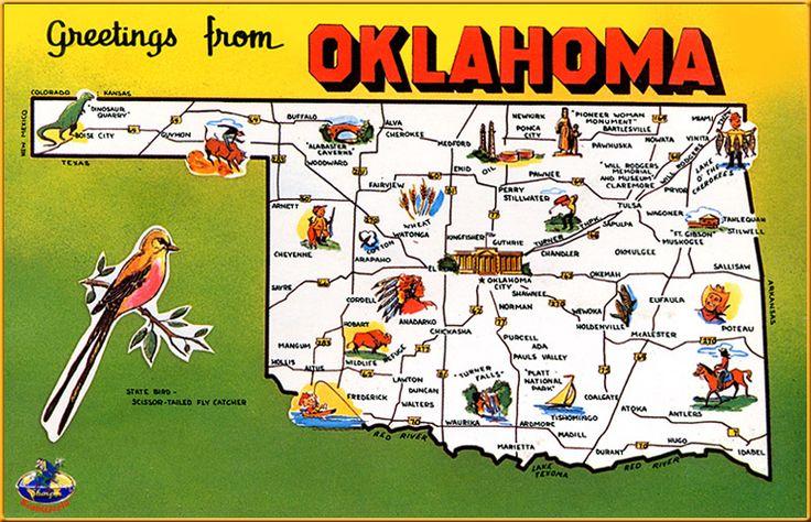 16 funny maps of oklahoma. Black Bedroom Furniture Sets. Home Design Ideas