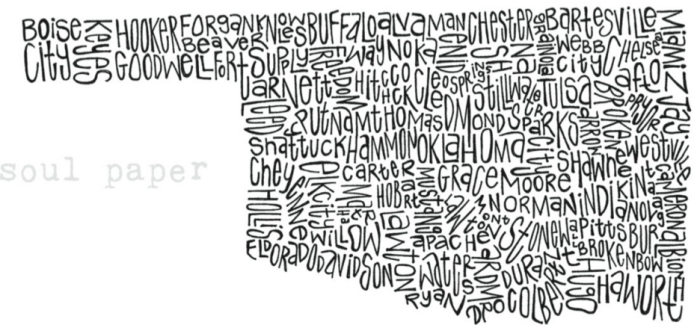 Funny Maps Of Oklahoma - State map of oklahoma
