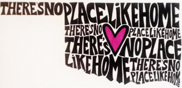 16. Oklahoma....there's no place like home.