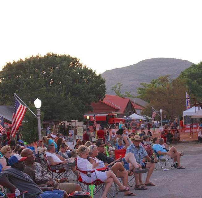 6. You can enjoy outdoor music and small town life.