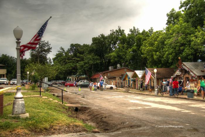Visiting Medicine Park In Oklahoma