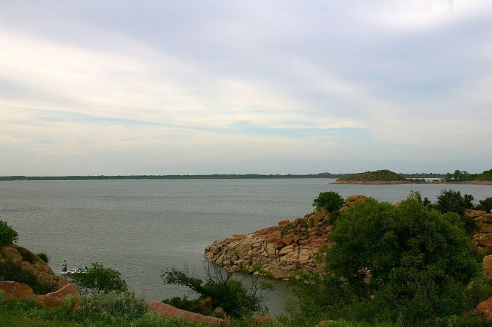 Lake Lugert-Altus, also known as Lake Lugert and Lake Altus,  is a reservoir located on the North Fork Red River. Heavy rains in 2015 ended an 8-year drought and refilled the lake with water.