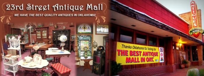 8. 23rd Street Antique Mall: Oklahoma City