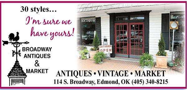 7. Broadway Antiques  & Market: Edmond