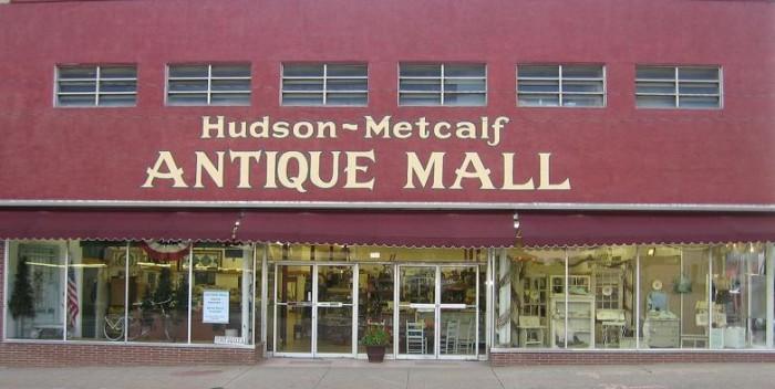 9. Hudson-Metcalf Antique Mall: Claremore