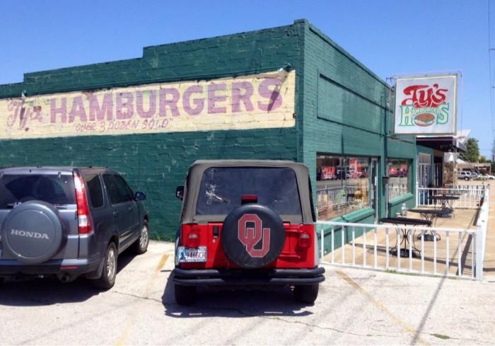 6. Ty's Hamburgers: Tulsa