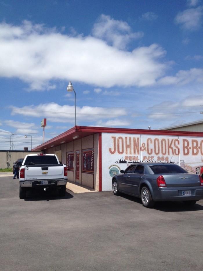 10. John & Cook's Bar-B-Que: Lawton