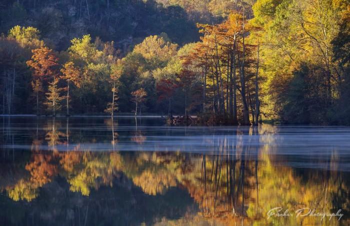 2. Broken Bow Lake