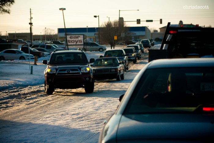 14. Better question...Do Oklahomans know how to drive in snow?