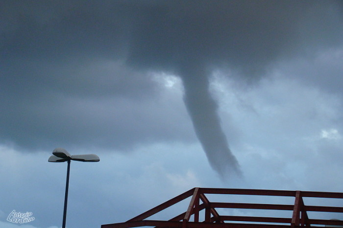 1. Have you ever been in a tornado?
