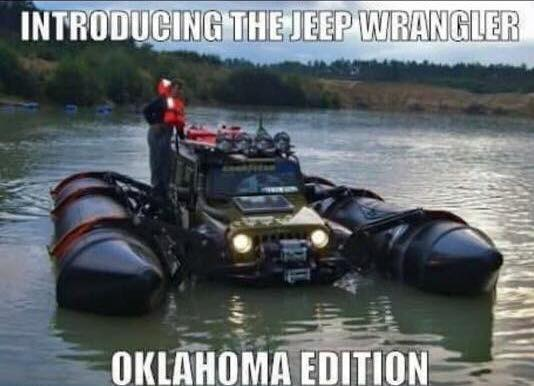 8. With all the recent flooding, it might be a good idea to have this version.