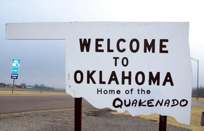 10. Oklahoma is no longer known for just tornadoes...we are now known for earthquakes and tornadoes, hence The Quakenado State!