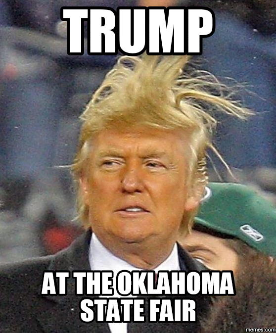 5. A great depiction of what Oklahoma wind does to hair.