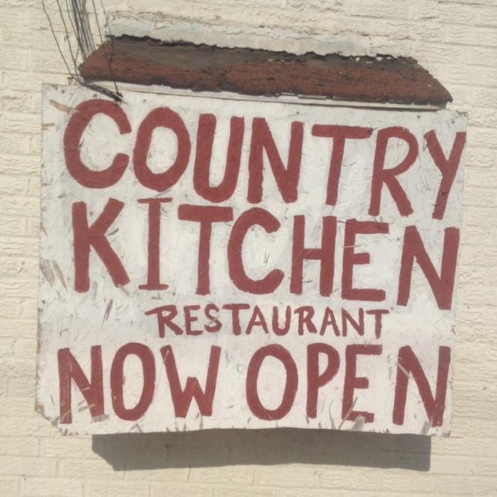 5. Country Kitchen Restaurant: Ponca City