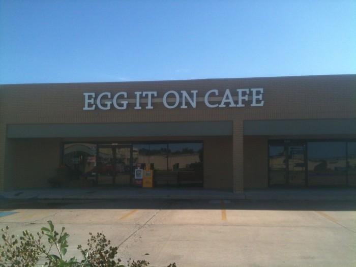 8. Egg It On Cafe: Broken Arrow