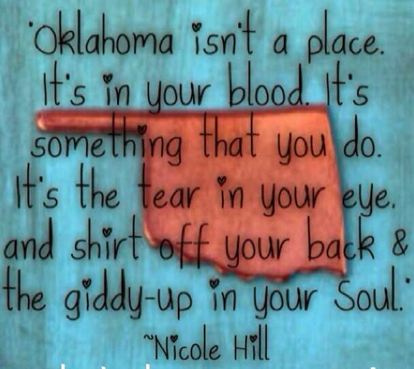 16. But most of all they're Oklahomans...which means they are full of LOVE!