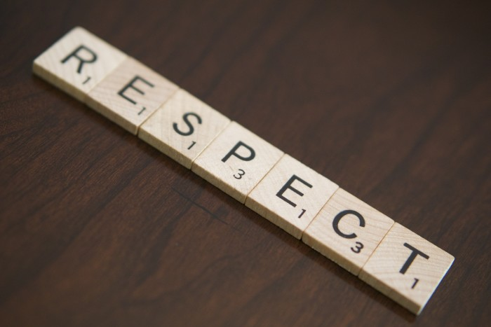 14. They live by good values, like respect and honesty.