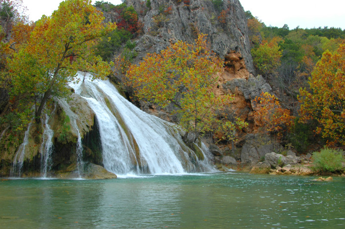 17. Turner Falls...the feature waterfall of Oklahoma.