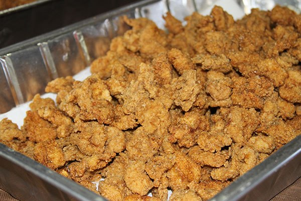 2. You understand what you are really eating when you're chowing down on calf fries.