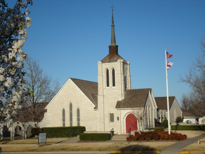 5. You understand the Oklahoma Trinity - there is always a church, bank or Sonic nearby.