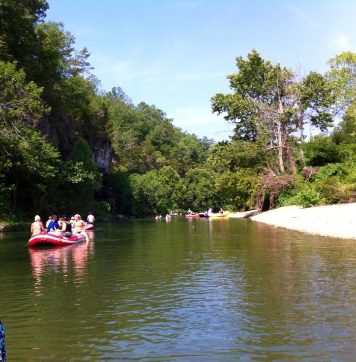 10. Float Trips are one of your favorite pastimes.