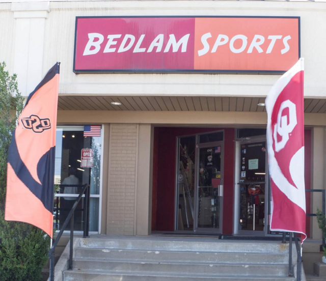 1. You FULLY understand what Bedlam means.