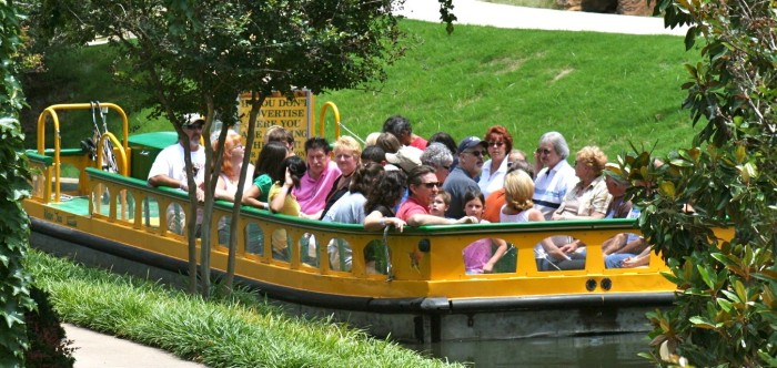 8.Stroll the streets of Bricktown and take a boat ride on the canal.