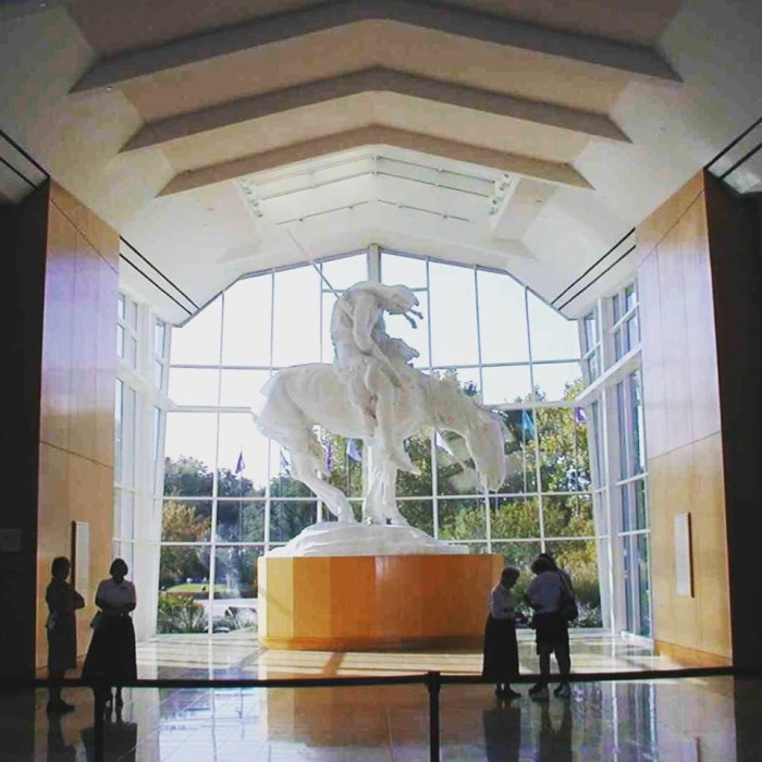 18. Tour the National Cowboy & Western Museum.
