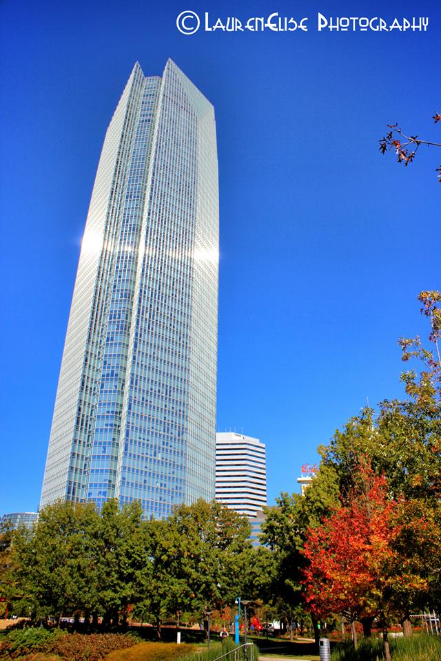 14. Visit the Devon Energy Tower building, the tallest building in the state.